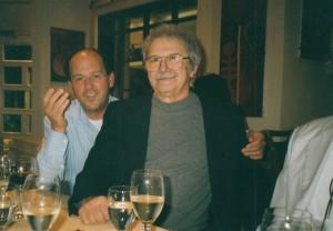 Mel Ramos mit Pierino, im HINDENBURG KLASSIK. KUNSTHAUS HANNOVER