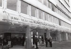 KUNSTHAUS HANNOVER, 1999 Ausstellungseröffnung