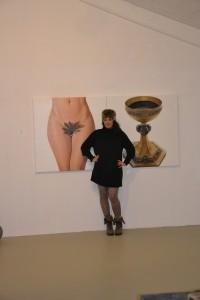 KUNSTHAUS HANNOVER, Ausstellungseröffnung mit Cristina Guerrero, 2014