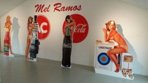 Mel Ramos -The Cut Out Project